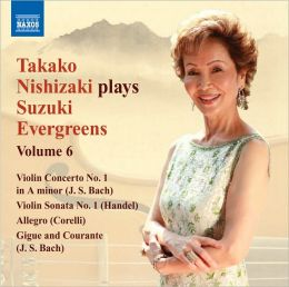 Takako Nishizaki Plays Suzuki Evergreens, Vol. 6