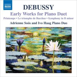 Debussy: Early Works for Piano Duet