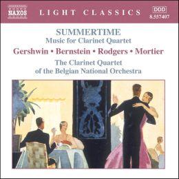 Summertime: Music for Clarinet Quartet