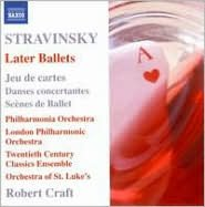 Stravinsky: Later Ballets
