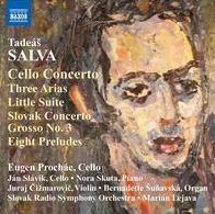 Tadeás Salva: Cello Concerto; Three Arias; Little Suite; Etc.