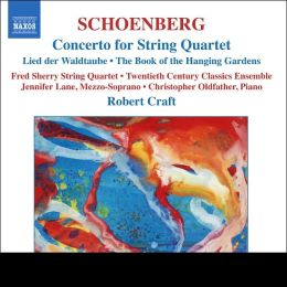 Schoenberg: Concerto for String Quartet