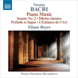 Nicolas Bacri: Piano Music