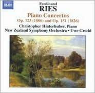 Ferdinand Ries: Piano Concertos Op. 123 (1806) & Op. 151 (1826)