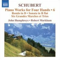 Schubert: Piano Works for Four Hands, Vol. 6