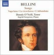 Bellini: Songs