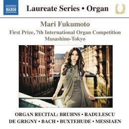 Organ Recital: Bruhns, Radulescu, De Grigny, Bach, Buxtehude, Messiaen