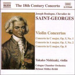 Boulogne: Violin Concertos