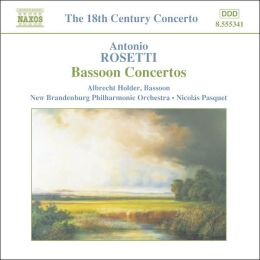 Rosetti: Bassoon Concertos