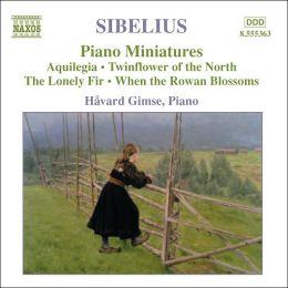 Sibelius: Piano Miniatures