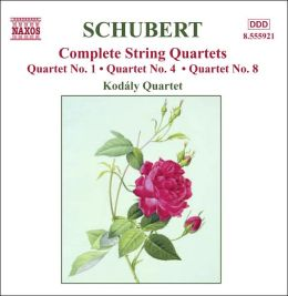 Schubert: String Quartets Nos. 1, 4, 8