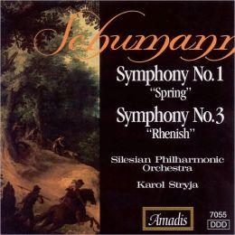 Schumann: Symphonies Nos. 1 (
