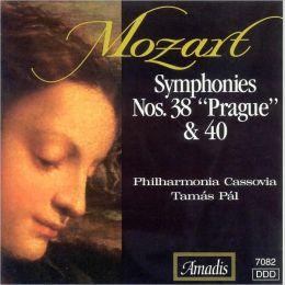 Symphonies 38 & 40