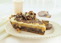 Chocolate Peanut Butter Pie with Reese's ®