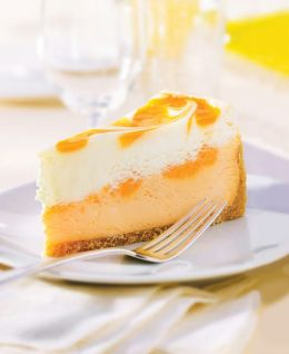 Orange Cream Cheesecake