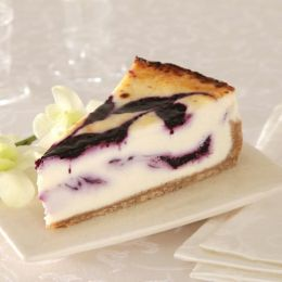 Blueberry White Chocolate Cheese Brulée®