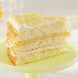 Lemonade Cake with Meyer Lemon Curd