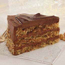 Chocolate Nut Torta made with Nutella®
