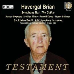 Havergal Brian: Symphony No. 1 'The Gothic'