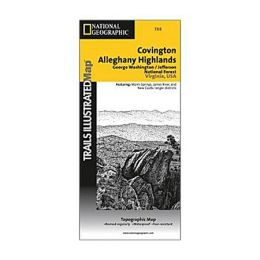 National Geographic 603136 788 Covington Allegheny Highlands Virginia and West Virginia