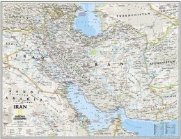 National Geographic Maps RE01020542 Iran Classic