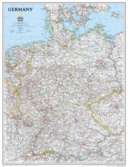 National Geographic RE00620157 Map Of Germany - Laminated