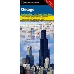 National Geographic DC01020311 Map Of Chicago - Illinois