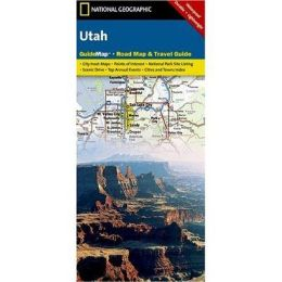 National Geographic GM00620395 Map Of Utah