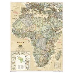National Geographic Maps RE01020430 Africa Executive