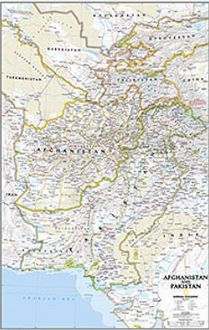 National Geographic Maps RE01020436 Afghanistan / Pakistan