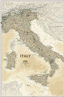 National Geographic Maps RE01020445 Italy Executive