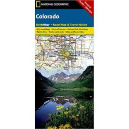 National Geographic GM00620553 Map Of Colorado