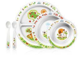 Philips AVENT BPA Free Toddler Feeding Gift Set