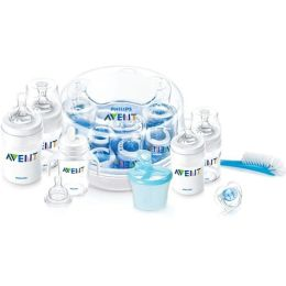 Philips AVENT BPA Free Baby Essentials Bottle Gift Set