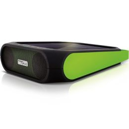 Eton NRKS200B Rugged Rukus Solar Bluetooth Audio System - Black & Green
