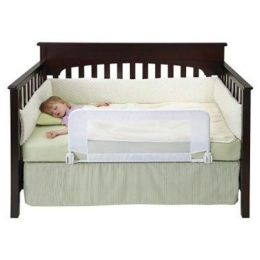 Dex Baby Products Safe Sleeper Convertible Crib Bed Rail, White