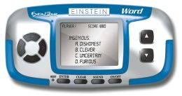 Einstein Word Wizard LCD Game