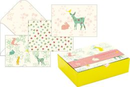 Woodland Animals Assorted Boxed Note Card Set of 15