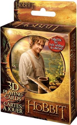 The Hobbit 3D Lenticular Playing Cards