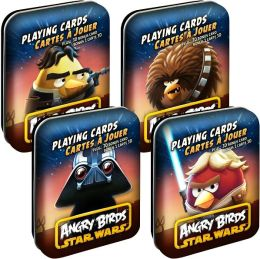 Star Wars Angry Birds Deck in Tin