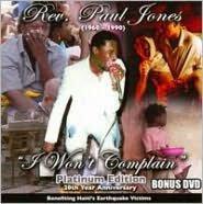 I Won't Complain [Bonus DVD]