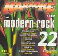 Chartbuster Karaoke: Modern Rock, Vol. 22