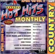 Karaoke: Hot Hits Country - April 2009, Vol. 2 [Chartbuster]
