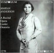 A Recital (Opera, Lieder, Oratorio)