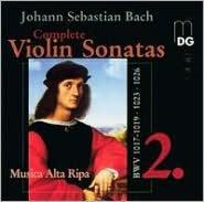 Bach: Complete Violin Sonatas, Vol. 2