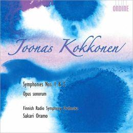 Joonas Kokkonen: Symphonies Nos. 1 & 2, Opus sonorum