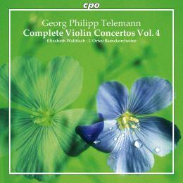 Telemann: Complete Violin Concertos, Vol. 4