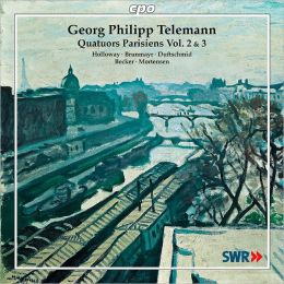 Telemann: Quatuors Parisienne, Vol. 2 & 3