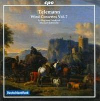 Telemann: Wind Concertos, Vol. 7