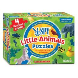 I Spy 4 in One Little Animals Puzzle